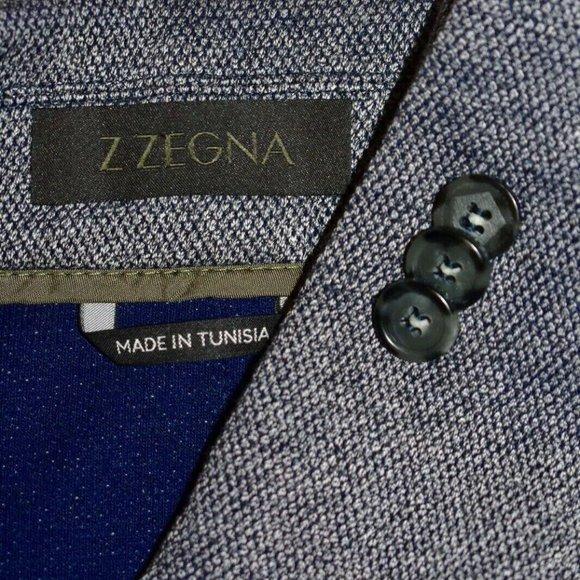 Ermenegildo Zegna Other - 42R Ermenegildo Z Zegna HOPSAK PATCH Gray BLAZER